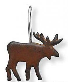 moose shower curtain hook