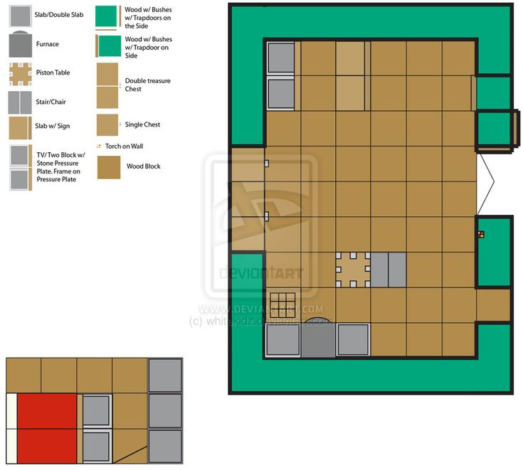 Top Cool Floor Plans For Minecraft Houses With Creative Commons Attribution No Derivative Works 3 0 License