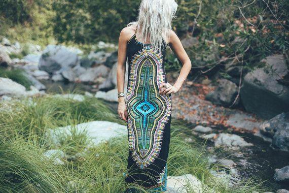 VENTE : Gaia Maxi Dress prêtresse de minuit la par BlondeVagabond