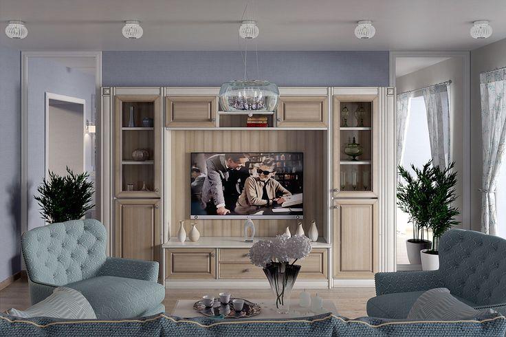арт деко в интерьере, современная классика в интерьере, интерьер гостиной, серый интерьер, голубой интерьер, светлая мебель, шкаф для тв, зеркала в интерьере, завтрак у тиффани, дизайн интерьера квартиры, деревянного дома, коммерческой недвижимости design-interior, interior-home