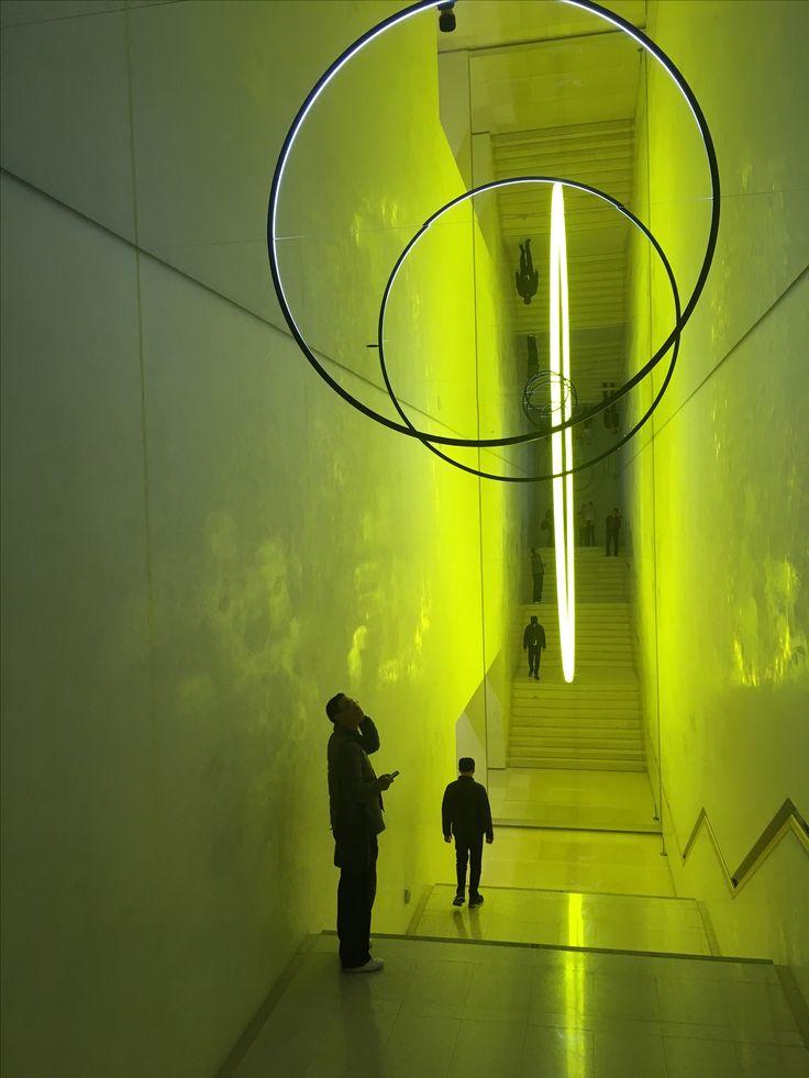 Leeum Samsung Museum of Art, Seoul. Olafur Elliasson. Nov 2017