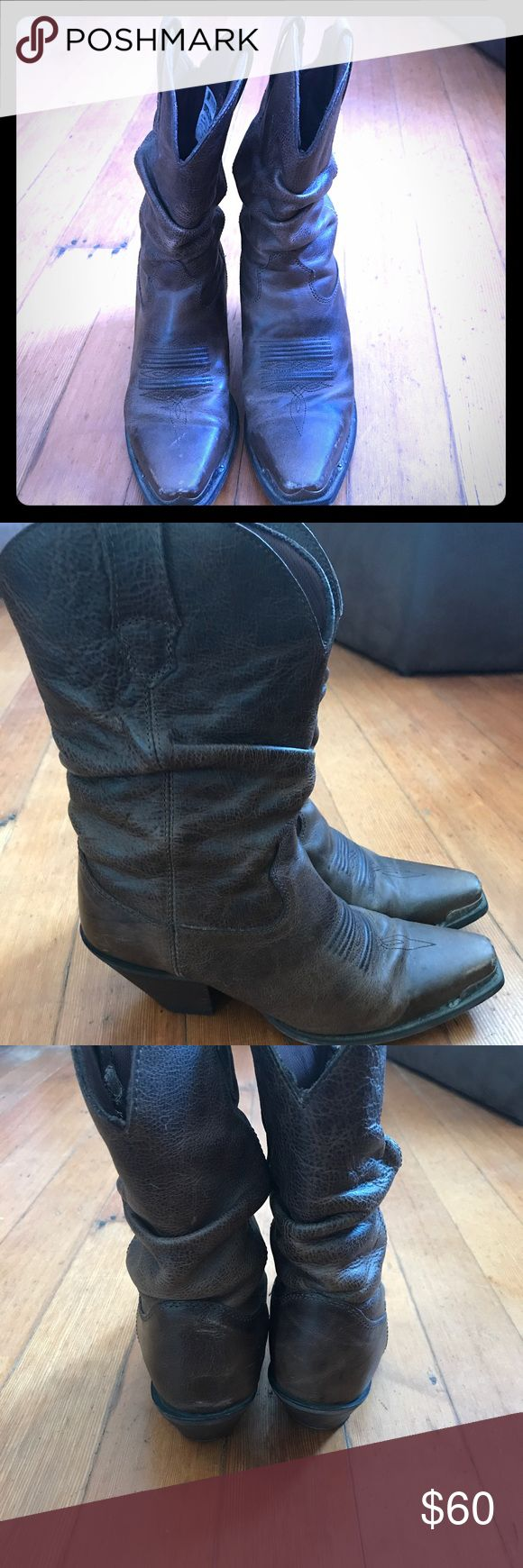 Brown Durango Western Boot Brown Durango Western Boot size 7.5 Durango Shoes Heeled Boots