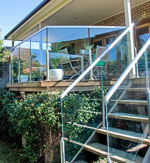 How to replace a timber balustrade with a stylish and durable glass one, timber glass