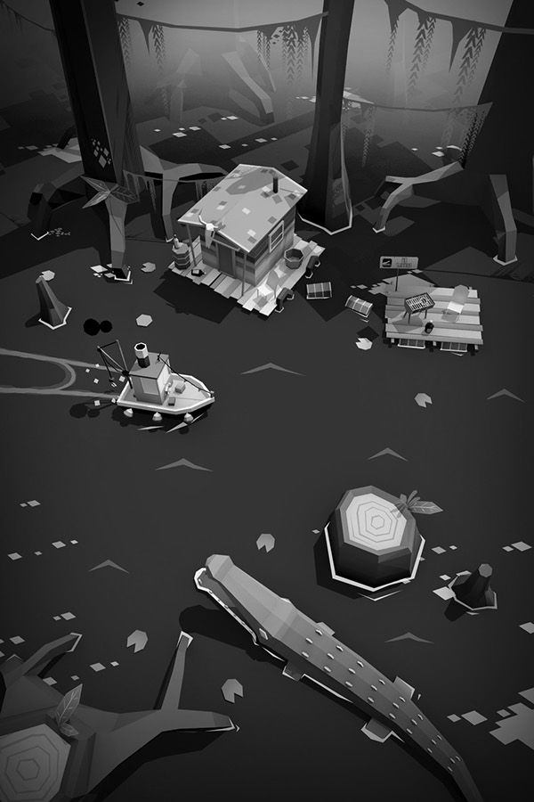 STEAMBOAT Poly | indie game on Behance