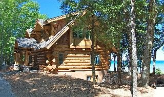 Weekly rentals, no pets, maximum 6 people, $4200/week in summer. VIRTUAL TOUR at bottom of page. We built our gorgeous log home in a picture-perfect setting, nestled along historical route M-119 (also known as ...
