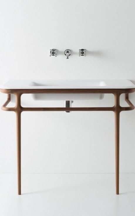 Fraaie wastafel designed by Antonio Lupi | waskom | washstand | washtub | badkamer | bathroom | design | interiordesign | interieurdesign | wonen | living