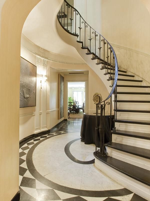 Foyer Spiral Staircase : Best images about neo classic interiors on pinterest