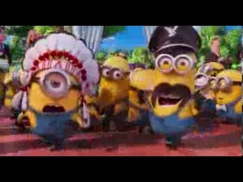 """Minions perform """"Y.M.C.A."""" by Village People ... from """"Despicable Me 2"""" - YouTube"""