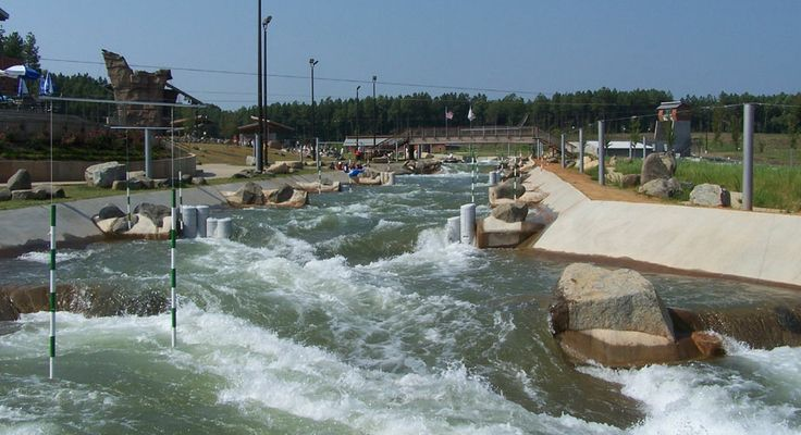 The U.S. National Whitewater Center is a non-profit outdoor recreation and athletic training facility for whitewater rafting, kayaking, canoeing, rock climbing, mountain biking and hiking which opened to the public on November 4th, 2006
