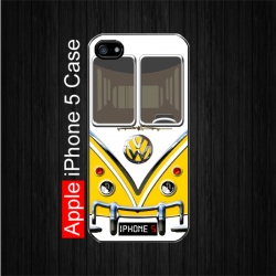 Yellow Volkswagen Camper Van iPhone 5 Case. $22.5 Free Shipping.