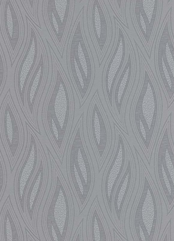 retro behang zilver glitter golven vinyl erismann 9743-10