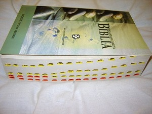 MAGANDANG BALITA BIBLIA with Deuterocanoinco / Revised TAGALOG POPULAR VERSION Bible / RTPV 050 DC 2009 / Thumb Index