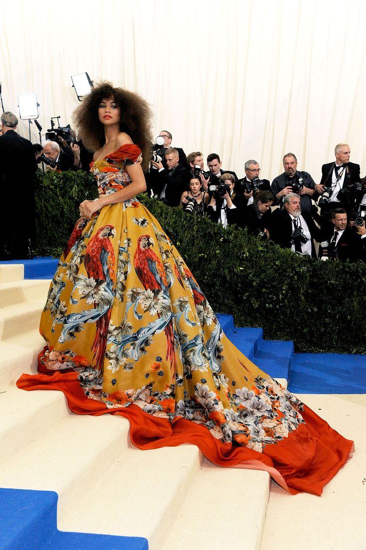 Met Gala 2017: Zendaya In Dolce & Gabbana    And Forevermark Diamonds.