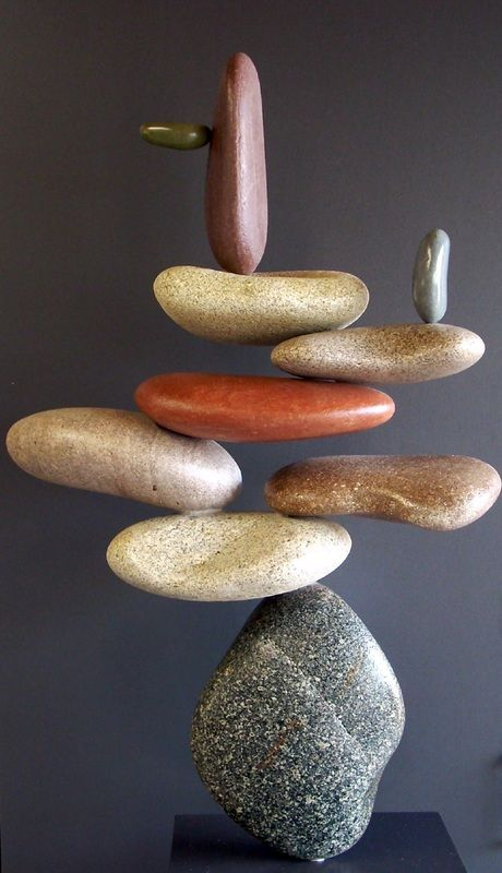Picture of gravity defying rock sculpture!