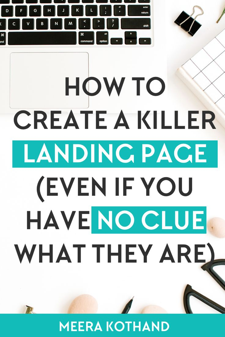 Does the thought of designing a simple landing page freak you out? In this post I give you examples and ideas of what goes into a high converting landing page. I show you why they are important and step-by-step how you can create your first. Need a checklist so that you'll avoid landing page mistakes, get it here.