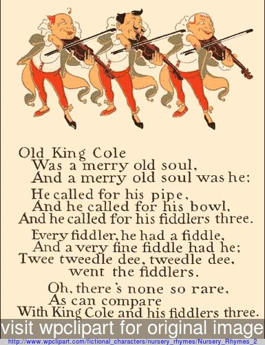 Old nursery rhymes old king cole 1 denslow public for Old king cole coloring page