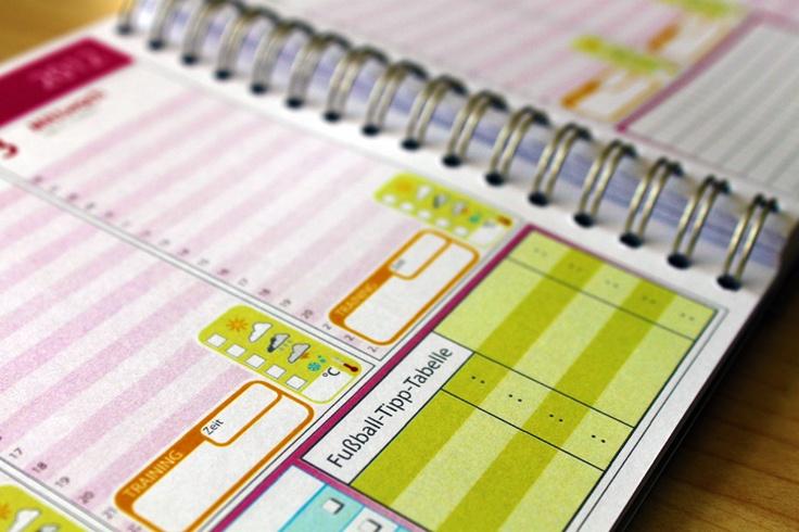 No day without sunshine: Mein Taschenkalender