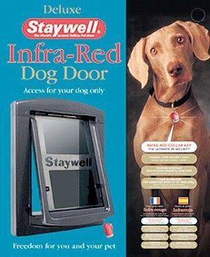 Porte pour grand chien avec infra-rouge Long. 56,10 x Larg. 45,60 cm