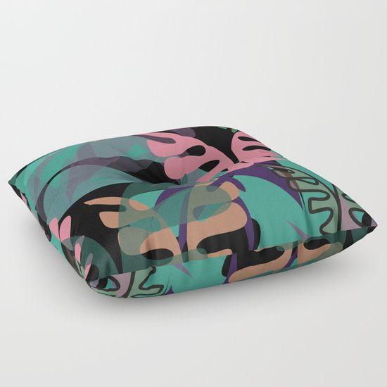 WildVeg 2 Floor Pillow
