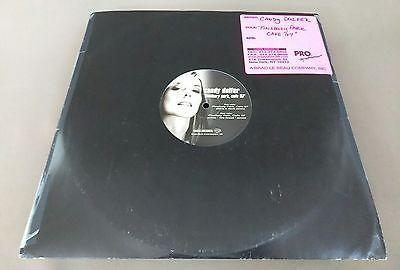 180 gram Candy Dulfer EP Finsbury Park, Cafe 67' Promo Dance Remix DJ Scratch