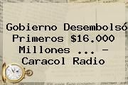 http://tecnoautos.com/wp-content/uploads/imagenes/tendencias/thumbs/gobierno-desembolso-primeros-16000-millones-caracol-radio.jpg Caracol Radio. Gobierno desembolsó primeros $16.000 millones ... - Caracol Radio, Enlaces, Imágenes, Videos y Tweets - http://tecnoautos.com/actualidad/caracol-radio-gobierno-desembolso-primeros-16000-millones-caracol-radio/