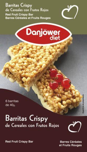 Barritas Crispy de Cereales con Frutos Rojos