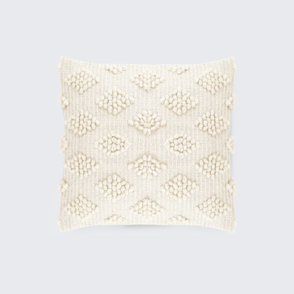 Cordoba Handwoven Wool Throw Pillow