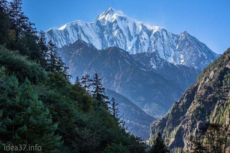 Гималаи, Непал. Величественные и священные горы, крыша мира.   Пик Аннапурна 2