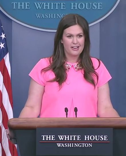 White House principal deputy press secretary Sarah Huckabee Sanders assured the media yesterday that there was nothing inappropriate with President Donald Trump asking former FBI Director James Com…