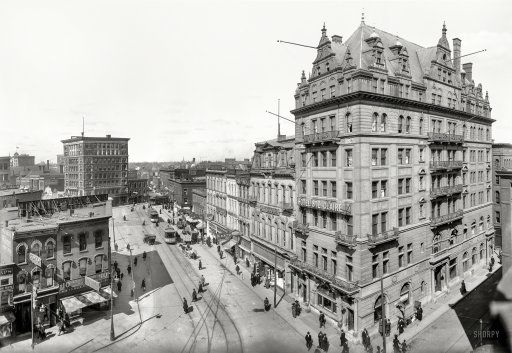 Detroit c 1906 Hotel Ste. Claire, Randolph and Monroe streets. Completed 1893, razed 1930s