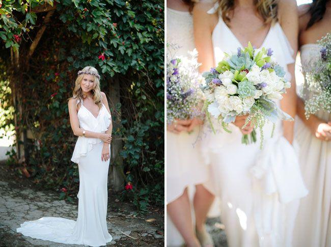 A Boho Garden Wedding in San Diego: Kelly + Tim | Green Wedding Shoes Wedding Blog | Wedding Trends for Stylish + Creative Brides