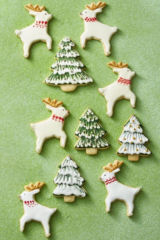 Reindeer And Tree Cookies