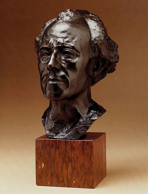 Gustav Mahler by Auguste Rodin