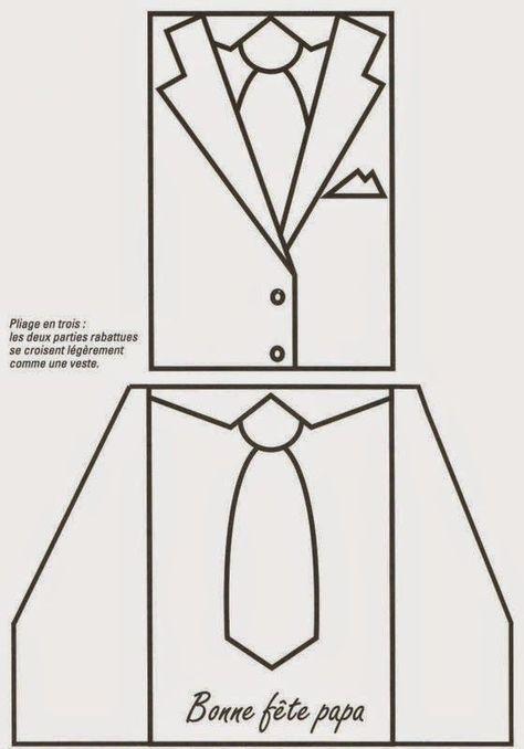 25 moldes de gravatas para Dia dos Pais