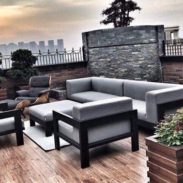 Die besten 25+ Outdoor lounge sets Ideen auf Pinterest - liegestuhl im garten 55 ideen fur gestaltung vom lounge bereich