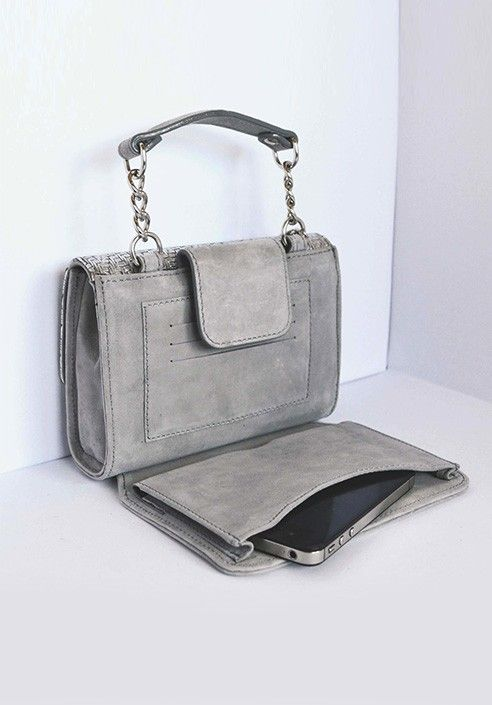 Pochette MiniME iBag Silver Moon MADE IN ITALY  Shop now on www.dezzy.it