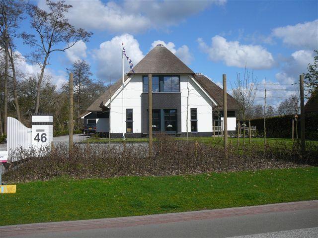 Nieuwbouw woning door Bouwbedrijf Siderius BV
