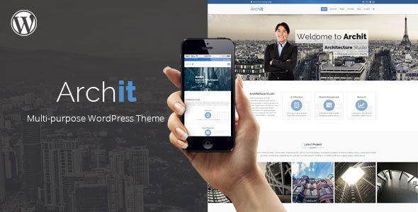 Archit - Architecture Multipurpose Theme