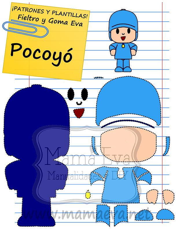 Ms de 25 ideas increbles sobre Pocoyo en Pinterest  Tutorial