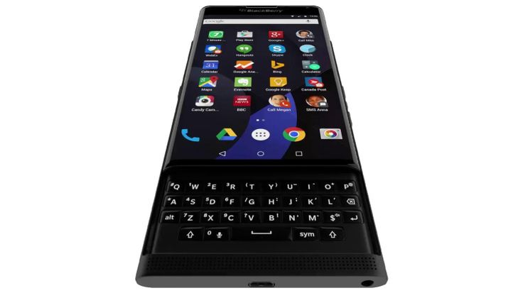 Of Course BlackBerry's Upcoming Android Phone Is Awkward | TechCrunch