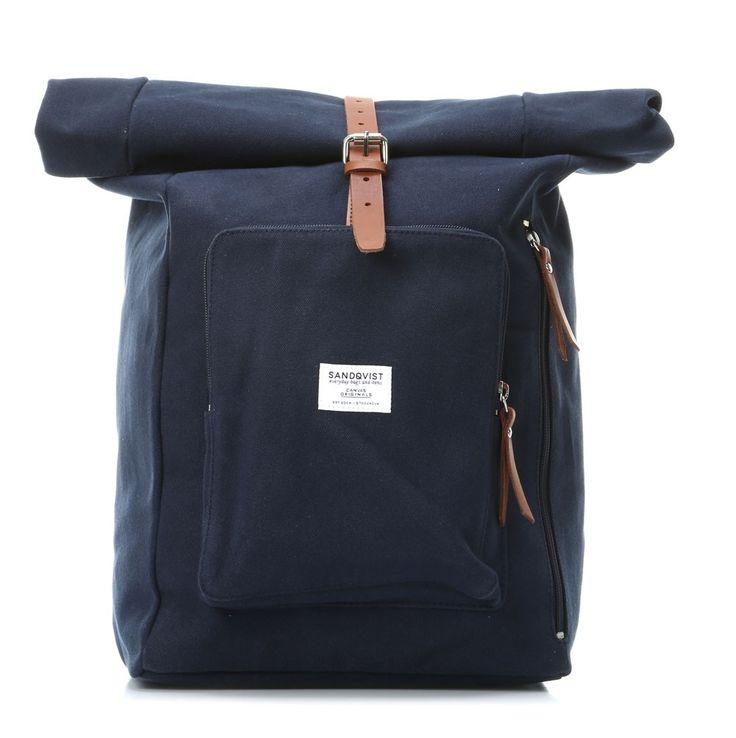 sandqvist jerry 15 39 39 laptop rucksack blau 38 cm sqa427 designer taschen shop. Black Bedroom Furniture Sets. Home Design Ideas