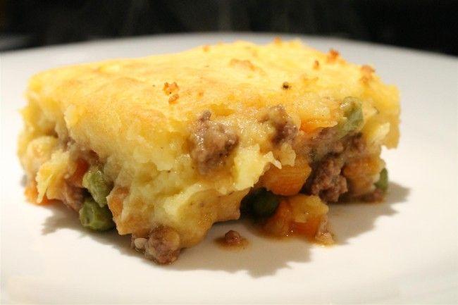 Shepherds pie - pásztor pite