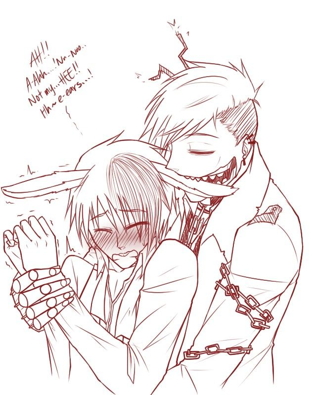 Springtrap x Bonnie fnaf  Its otp  DON'T BITE OR NIBBLE ON MY EARS Love bonnie