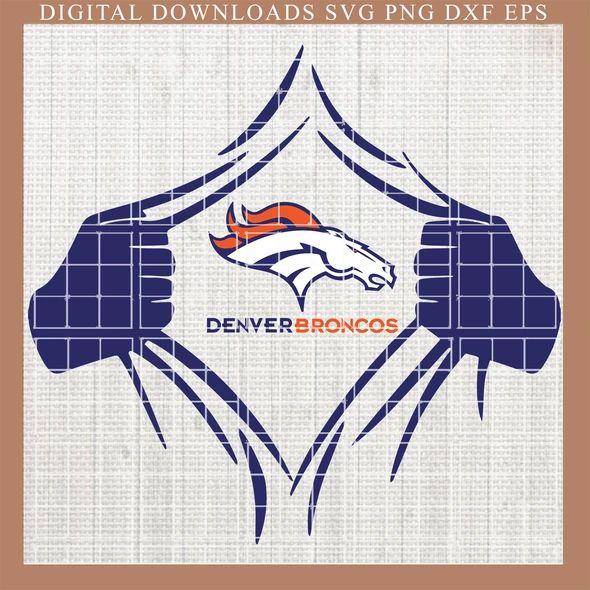 Denver Broncos Svg ,Broncos Svg, Nlf , Skull Svg, Fueled