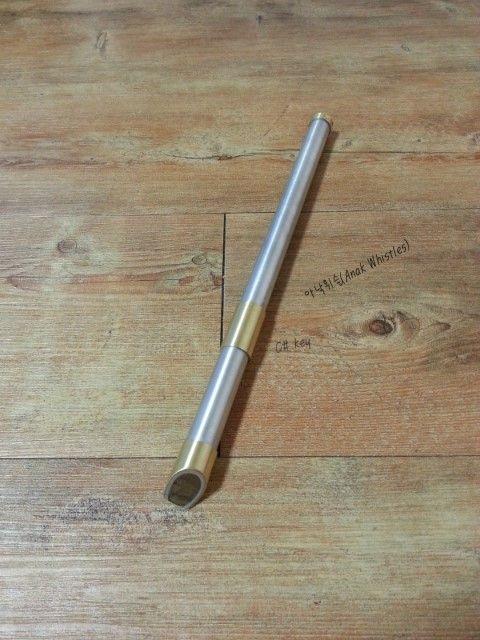 Anak Whistle (Metal & wood mixed) High C#(Db) key... (Irish Tin Whistle)