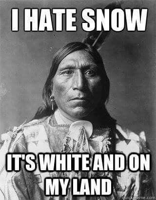 Guess what, it was white and on the land long before you ever got there. take you're white hate or guilt elsewhere