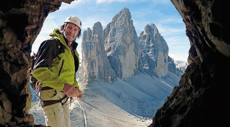 Der Südtiroler Bergsteiger Hans Kammerlander  (Quelle: Walther Lücker)