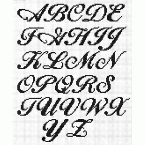 ALPHABET FOR CROSS STITCH | Free Cross Stitch Patterns