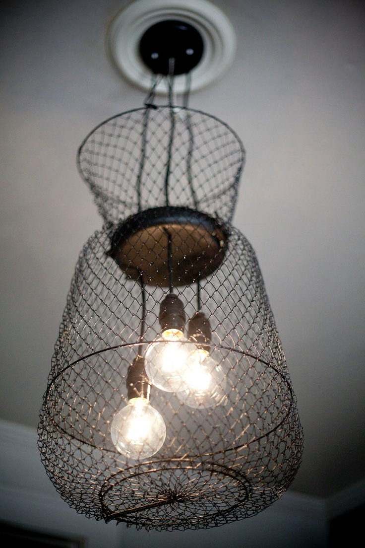 Black Out Live Well Cluster Chandelier. $189.00, from RoughSouthInteriors.