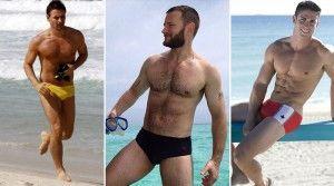 As sungas vestem bem em quase todos os tipos de homem. Não tenha medo de usar uma para ir à praia.
